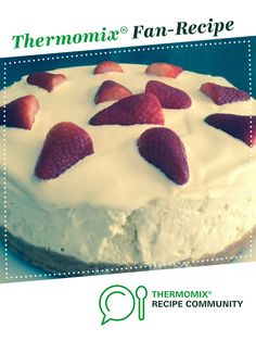 Recipe LEMON CHEESECAKE by janeusher, learn to make this recipe easily in your kitchen machine and discover other Thermomix recipes in Desserts & sweets. Thermomix Cheesecake, Thermomix Desserts, Lemon Cheesecake, Cheesecake Recipes, Sweets Recipes, Cooking Recipes, Recipe Community, Food N, Vegetarian Cheese