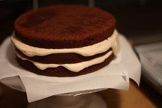Building Devils Chocolate Cake