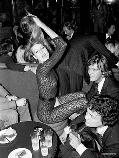 Jerry Hall, Studio 54