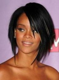 Rihanna Bob Hairstyles Front and Back View Rihanna Hairstyles, Short Hairstyles For Women, Celebrity Hairstyles, Wig Hairstyles, Straight Hairstyles, Trendy Hairstyles, Love Hair, Great Hair, Jenifer Lawrence