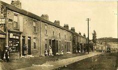 High Street in Howden le Wear, near Crook, Co. Durham, England, United Kingdom.