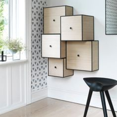 Via Luxoliving | By Lassen Cupboard and Wallpaper