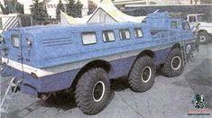 Old russian car: ZIL-E167