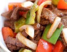Recette facile de casserole de bœuf au poivron!