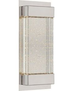 """Amazing Deal: WAC Lighting WS-12713 Mythical 1 Light 13"""" High Integrated LED Wall Sconce"""