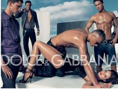 The BANNED AD of 2007 for D&G SHOES COLLECTION. Sexualised woman in submissive pose?Right?Looks like gang-rape...