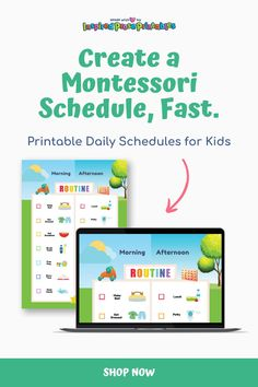 Planning Montessori homeschool? Use this visual schedule for kids to organize Montessori crafts, sensorial activities, learning activities and more. #montessorihomeschool #motessoricrafts #sensorialactivities #learningactivities #inspiredproseprintables Toddler Routine Chart, Daily Routine Chart, Chore Chart Template, Printable Chore Chart, Printables, Daily Schedule Kids, Kids Schedule, Family Chore Charts, Chore Chart Kids