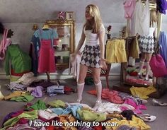 Awesome Alert: Cher Horowitz From Clueless Has Been Coveteurd! Cher Horowitz, Sell Your Clothes Online, First Date Outfits, Ideas Para Organizar, Vide Dressing, Decluttering, Movie Quotes, Tv Quotes, Qoutes