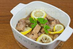 Stewed Pork Ribs with Lemon and Champagne02