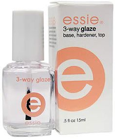 I just started using Essie 3-way glaze and I agree that it is the BEST base coat/top coat available.  Love it!