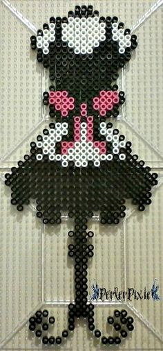 Maid's Dress perler beads by PerlerPixie
