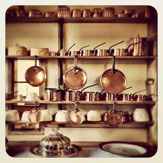 Old school kitchen dresser by Jamie Oliver
