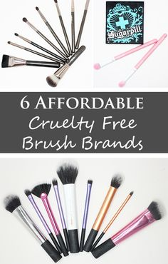 Phyrra brings you the 6 best, affordable cruelty free brush brands, all with synthetic taklon bristles. Quality makeup brushes don't have to break the bank!