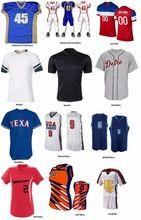 custom soccer american football rugby baseball basketball softball lacross jerseys sublimation tackle twill