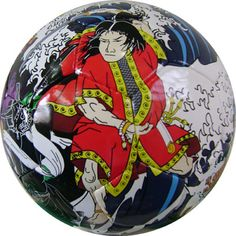 A professional ball with 360 printing screens. The most expensive. Made Of Imported best & tested solid PU.