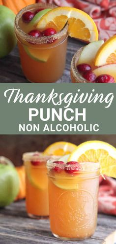 Thanksgiving Punch, Thanksgiving Cocktails, Thanksgiving Appetizers, Thanksgiving Recipes, Holiday Recipes, Holiday Drinks, Christmas Drinks, Apple Recipes, Fall Cocktails