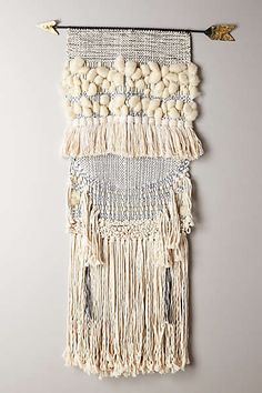 I want this so bad!!!   Handwoven Arrow Tapestry, Large