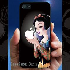 iPhone 5 case, iPhone 5s case. Tattoo iPhone 5s protector, iPhone 5 cover, iPhone 5s cover, iPhone 5 5s hard case, Macbook decal, Snow White