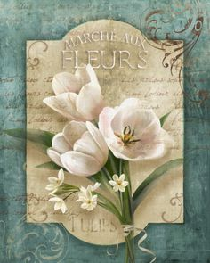 Marche aux Fleurs Posters by Conrad Knutsen at AllPosters.com