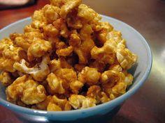 good food in a crap kitchen: Caramel Corn - aka homemade Cracker Jack