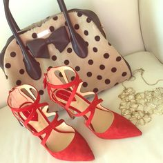 Red Cross Over leather shoes New , no box included EUR 36  Reasonable Offers welcomed via offer feature  Zara Shoes Heels