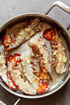 Lobster Scampi with Linguine - Cooking for Keeps Lobster Dishes, Lobster Recipes, Seafood Recipes, Cooking Recipes, Fish Dishes, Crockpot Fish Recipes, Dinner Recipes, Gourmet Cooking, Pasta Dishes