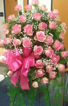 Funeral Floral Arrangements, Sunflower Arrangements, Church Flower Arrangements, Beautiful Flower Arrangements, Beautiful Flowers, Casket Flowers, Grave Flowers, Funeral Flowers, Happy Birthday Bouquet