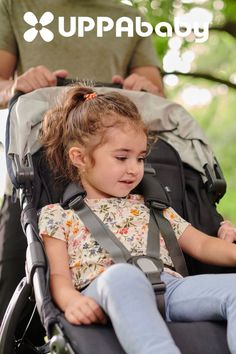 The push button recline allows for switching your little one from sightseeing to snoozing position!