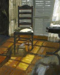 ◇ Artful Interiors ◇ paintings of beautiful rooms - Nancy Parsons