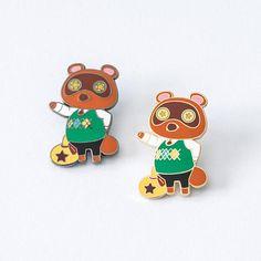 Tom Nook pin -- Animal Crossing hard enamel pin