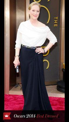Oscars 2014 - MERYL STREEP  in Lanvin