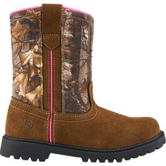 609766b4dee2a Own Your Style with Charming Girls Boots girls boots game winner®  girlsu0027 camo wellington ii