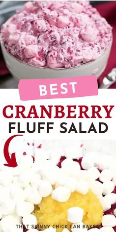 Best Cranberry Fluff Recipe