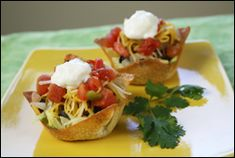 Hungry Girl Mini Taco Salad