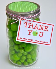 teacher appreciation week 2013   Teacher Appreciation Mason Jars