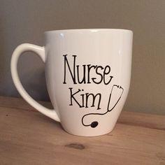 Nurse mug gift for nurse special nurse mug by simplymadegreetings