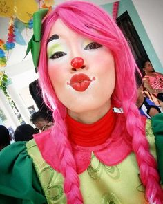 Halloween Clown, Halloween Makeup, Clown Makeup, Makeup Art, Clown Suit, Female Clown, Facial, Cute Clown, Vintage Clown