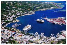 City of Papeete Tahiti.