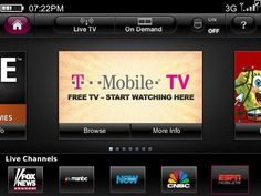 T-Mobile TV now in the App Store - It was big news earlier this year when T-Mobile announced that it would be selling the iPhone for the first time. Not only did that mean another major ca...