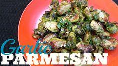Garlic Parmesan Brussels Sprouts - Speedy Cooking Videos - PoorMansGourmet