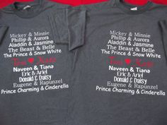 Free Shipping for US Disneys Couples Shirts by DsWishingWell, $38.00