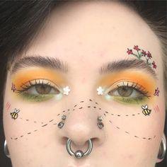 Eye Makeup Tips – How To Apply Eyeliner Makeup Fx, Makeup Goals, Makeup Inspo, Makeup Tips, Beauty Makeup, Hair Makeup, Creative Makeup Looks, Unique Makeup, Cute Makeup