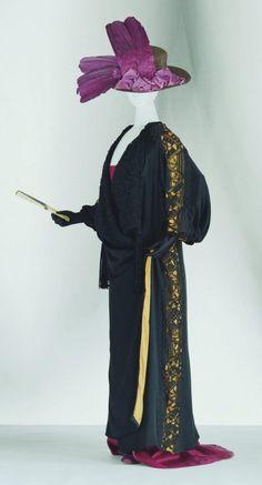 poiret | ... poiret crochet kimono 400x741 Designer Crochet Project: Paul Poiret