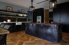 Diseños de cocinas negras - kanseicocinas.com
