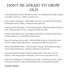 This just melts my heart. I'm not so afraid to grow old with my best friend and partner by my side. -Autumn