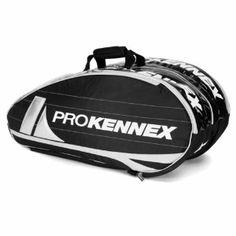 Pro Kennex SQ Pro Series 9 Pack Black Tennis Bag by Pro Kennex.  69.99. 2c52451041ad8