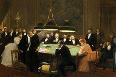 Jean Beraud, The Game Room: 1889