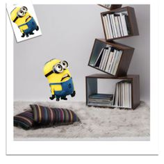 Small Yellow Person Removable Wall Sticker Home Decal #qxmall #walldecals #walldecors #wallarts #wallstickers