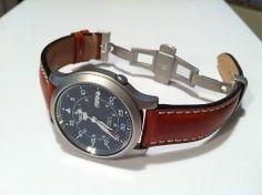 AmazonSmile: Seiko Men's SNK807 Seiko 5 Automatic Stainless Steel Watch with Blue Canvas Band: Seiko: Watches