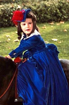 """Cammie King as Bonnie Blue Butler in 'Gone With The Wind'. """"Daddy Daddy watch me watch me! I'm going to jump! Hollywood Glamour, Classic Hollywood, Old Hollywood, Old Movies, Great Movies, Ana Karenina, Wind Movie, Margaret Mitchell, Tomorrow Is Another Day"""